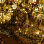 Ночной базар в Марракеш (Марокко)